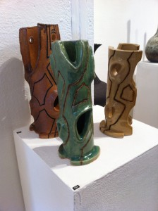 Cedoux Kadima's pieces, Morley Gallery exhibition